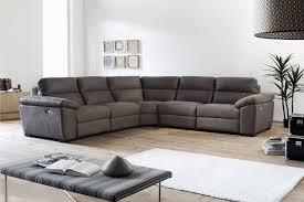 Corner Sofas With Recliners Fabric Corner Sofa With Recliner Ezhandui