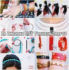 16 amazing diy fashion crafts diy craft projects