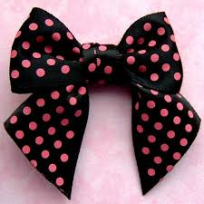 polka dot ribbon large satin ribbon polka dot bow black and