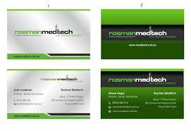 It Technician Business Card Business Card Design For Joshua Landman By Inesero Design 2819752