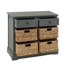Chest Of Drawers With Wicker Drawers Chest With Wicker Basket Drawers Chest Of Drawers