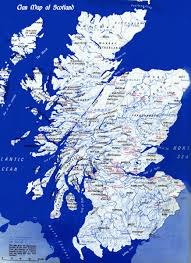 Scotland Did You Know Clan Map Of Scotland