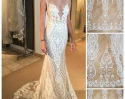 fashion wedding dress fabric high quality 3d butterfly lace