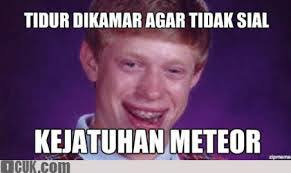 Blb Meme - blogdynamic indonesia arti blb bad luck brian dalam meme