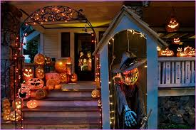 Halloween Outside Decorations 5 Halloween Outdoor Decorations On A Budget The Home Design
