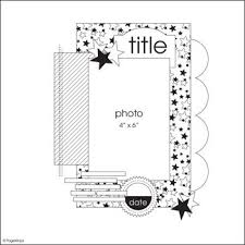 491 best scrap sketches and page ideas images on pinterest