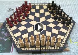 Fancy Chess Boards Three Player Chess Is Now A Reality That Is A Headache For Chess