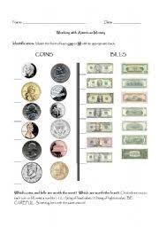 english teaching worksheets american money