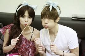 k pop js hyuna trouble maker photoshoot aunnie s world troublemaker the sexy dynamic duo