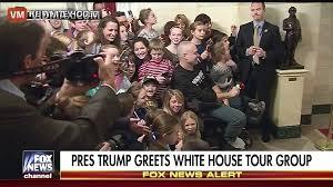 president trump leaves kids jaws hanging open erupts in cheers as