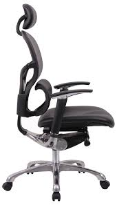 Office Chair Side View Leather Orthopaedic Office Chair Wave Great Comfort And Stylish