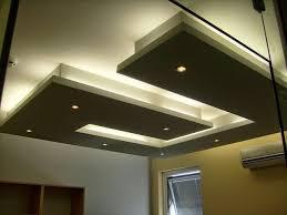 Hall Ceiling Lights by Gypsum Board False Ceiling Designs Or Living Room Modern Led
