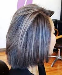 coloring gray hair with highlights hair highlights for best highlights for gray hair the best gray coverage in seattle
