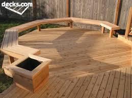 deck ideas put benches w storage around the railing then dining