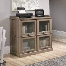Glass Enclosed Bookcases Barrister Bookcases You U0027ll Love Wayfair
