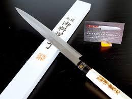 sakai jikko sashimi yanagiba knife standard japanese carbon