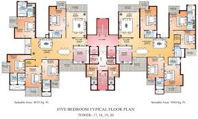 5 bedroom floor plans magnificent 5 bedroom aparment floor plans on bedroom shoise