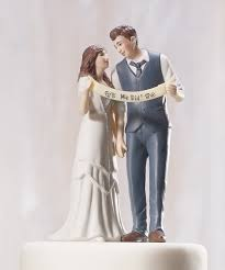 indie style retro vintage custom wedding bride groom couple cake