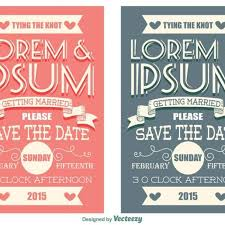 Save The Date Cards Free Free Vector Save The Date Cards 33225 My Graphic Hunt