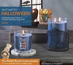 coca cola promo code for halloween horror nights yankee candle u0027s boney bunch 2017 halloween collection revealed