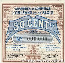 chambre de commerce orleans 50 centimes regionalism and miscellaneous orléans et blois