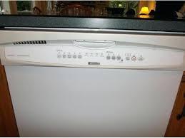 Kenmore Dishwasher Will Not Start Kenmore Dishwasher Ultra Wash Quiet Guard Reset Kenmore Dishwasher