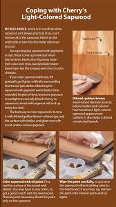 tips for finishing cherry popular woodworking magazine