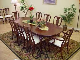 oval dining room table sets dining room furniture oval shape pedestal table for with brown