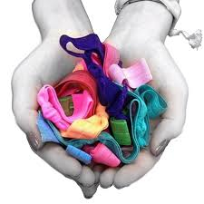ribbon hair bands 100 candy color ponytail ribbon hair bands enine