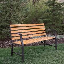 bench walker walker edison furniture company huntsman dark oak