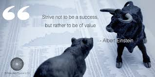 einstein quote about success and value strive not to be a success but rather to be of value u2022 albert