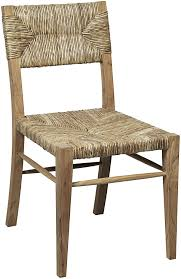 Pottery Barn Seagrass Chair by Furniture Armless Seagrass Dining Chair In Rustic Design