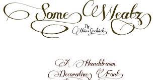 cool tattoo font
