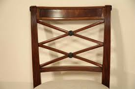 Antique Reproduction Dining Chairs Mahogany Cross Back Dining Chairs Fine Antique Reproductions