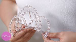 halloween wedding ideas martha stewart halloween diy ice queen tiara diy style martha stewart youtube
