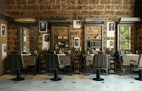 Home Salon Decorating Ideas Modern Barber Shop Designs Beauty Salon Designs Hairdressing Salon