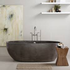 Concrete Bathroom Sink by Avalon 72 Inch Freestanding Soaking Tub Native Trails