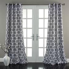geo room darkening window curtain set lush decor www lushdecor com
