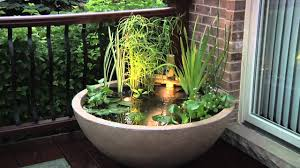 container water garden diy home outdoor decoration