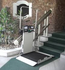 Garaventa Stair Lift by Inclined Straight Platform Lift Installed And Serviced By Xpress