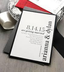 black and white wedding invitations modern wedding invitations wedding invitation black and