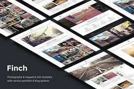 design magazine site finch photography magazine site template by elemis on envato
