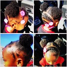 Simple And Cute Hairstyles For Short Hair by Natural African American Black Hair Style For Young Short