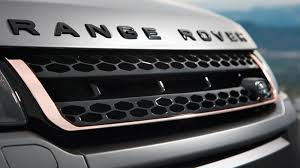 black chrome range rover land rover range rover evoque victoria beckham auto review