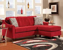 living room delightful tan living room with l shape red leather
