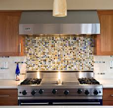 how to install glass mosaic tile kitchen backsplash smaller mosaic tiles just stove with larger more neutral