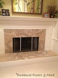floor and decor coupon fireplace surround interceramic travertino royal color noce tile