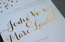 expensive wedding invitations a guide to wedding invitation printing techniques woman getting