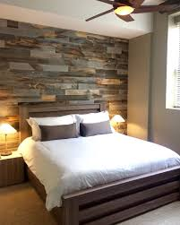 Wall Decor For Bedroom by Diy Easy Peel And Stick Wood Wall Decor