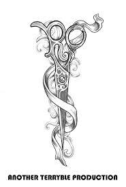 best 20 hair scissor tattoos ideas on pinterest scissor tattoos